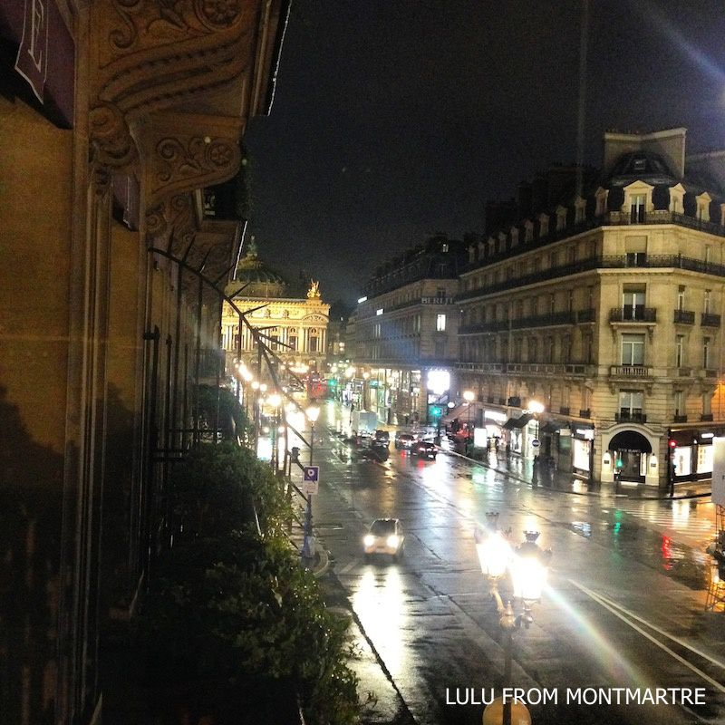 08. Avenue de l'Opéra by night, Paris 75008