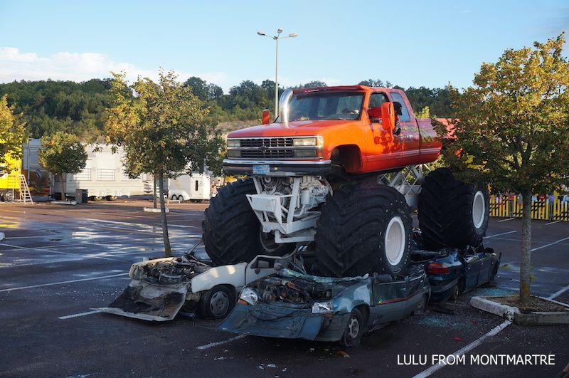 Le jour où j'ai assisté à un spectacle de Monster Trucks
