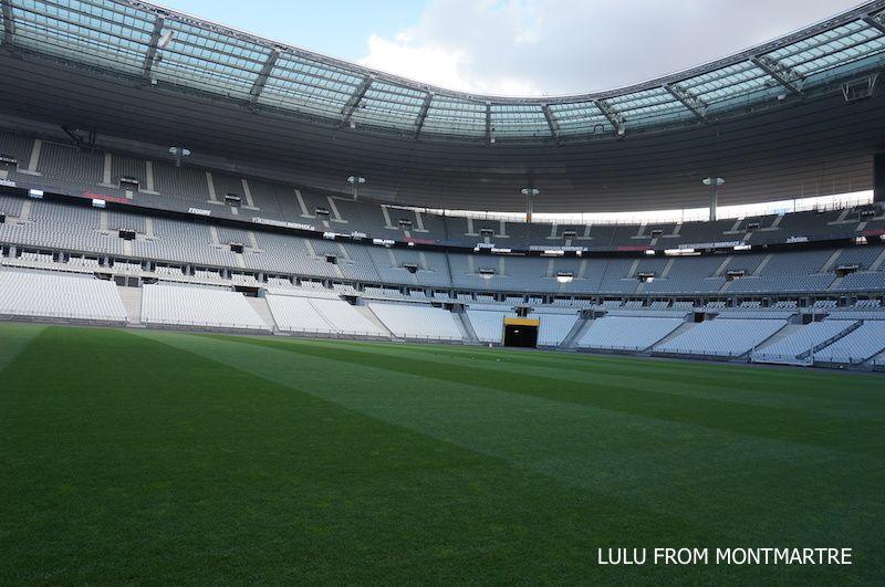 Le jour où j'ai visité le Stade de France