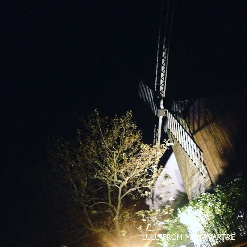 04. Moulin by night, Montmartre 75018
