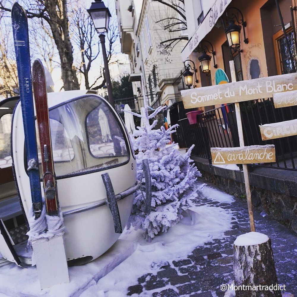 06. A Montmartre, on tente l'ascension du Mont Blanc ! 75018