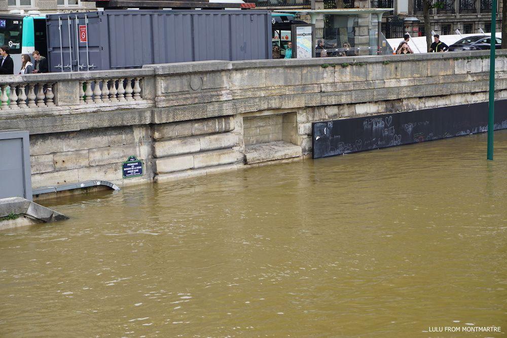 Le jour où j'ai vu la Seine en crue