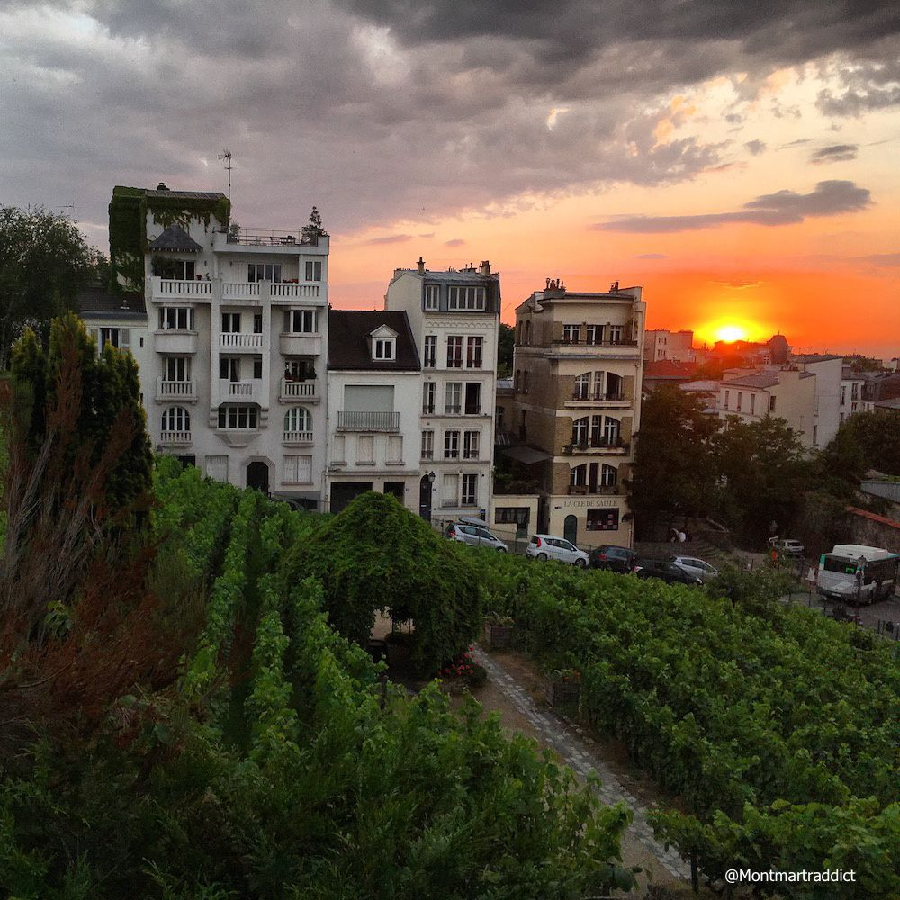 10. Sunset in Montmartre, 75018