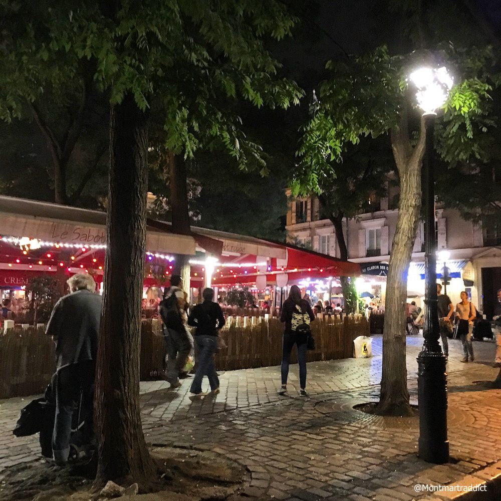 09. Montmartre by night, 75018