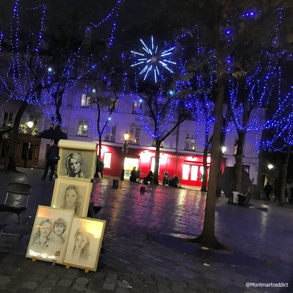 07. Montmartre by night, 75018