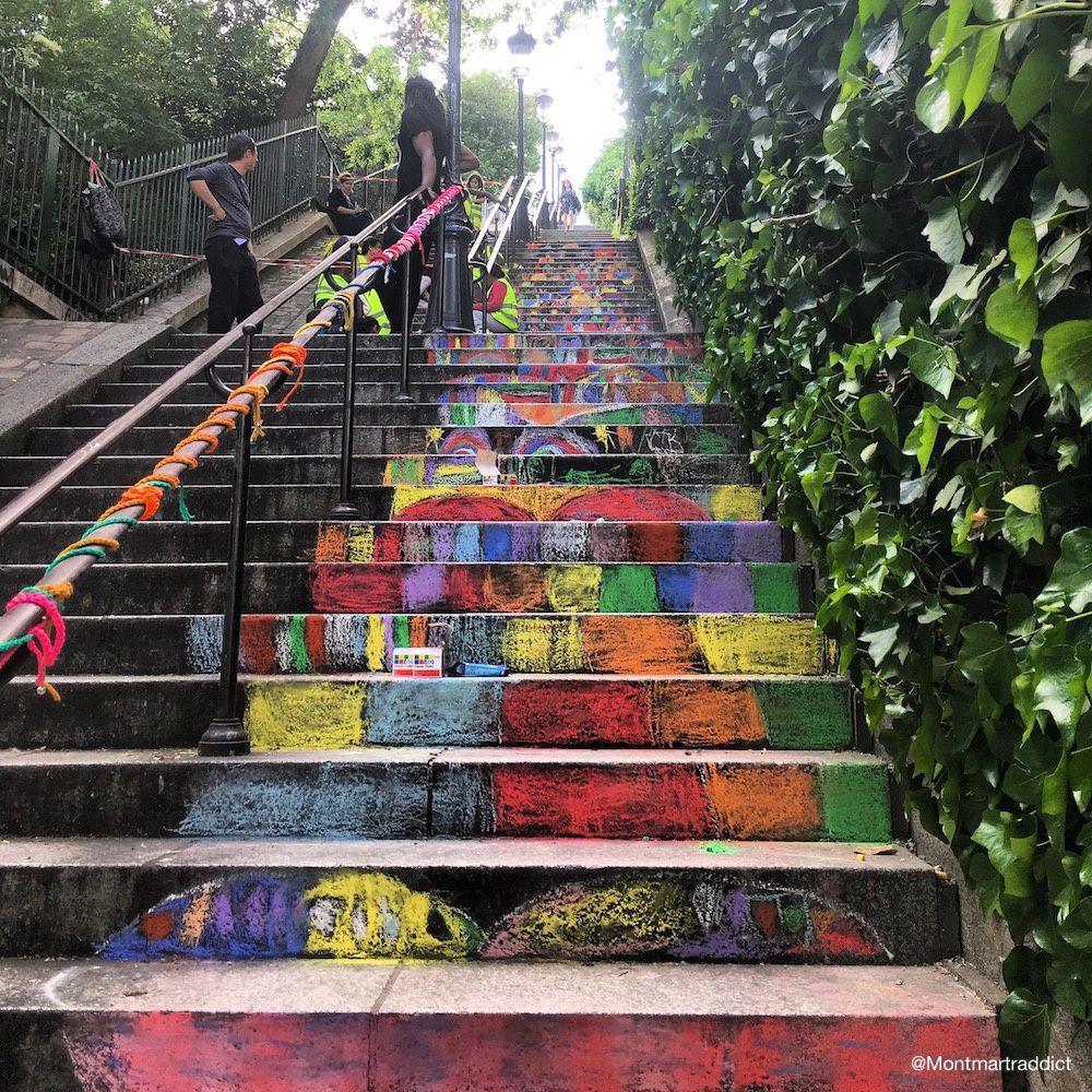 26. Montmartre en couleur, 75018