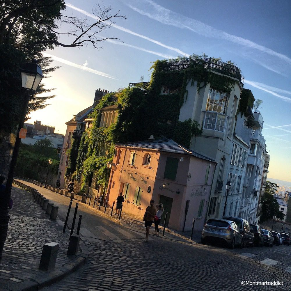 06. Sunset in Montmartre, 75018