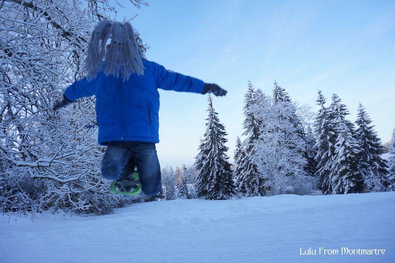 Le jour où j'ai skié dans le Jura...