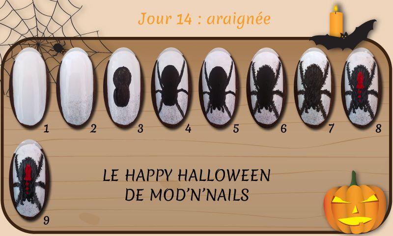 Défi Happy Halloween - Jour 14 : araignée