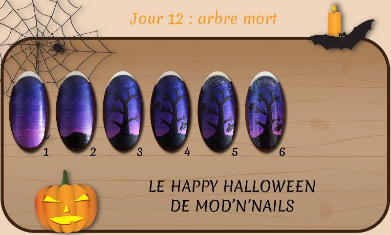 Défi Happy Halloween - Jour 12 : arbre mort