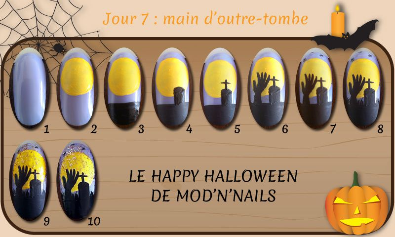 Défi Happy Halloween - Jour 7 : main d'outre-tombe