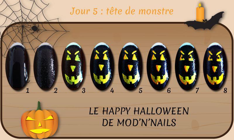Défi Happy Halloween - Jour 5 : tête de monstre