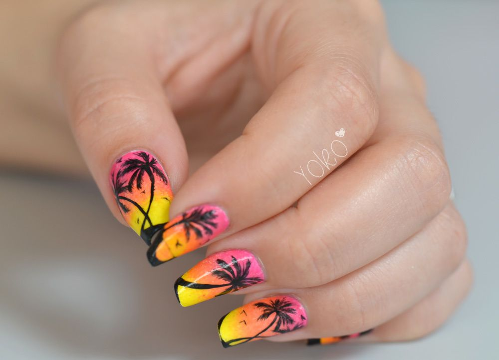 Nail art Miami Beach