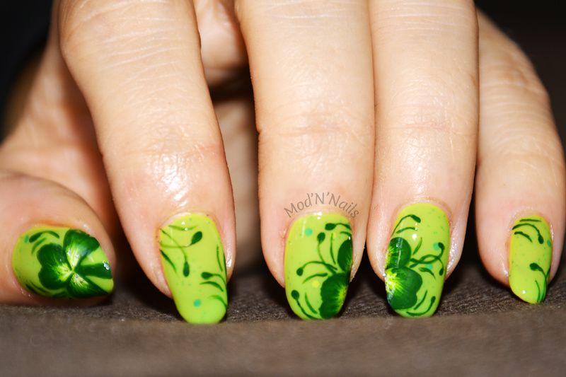 Nailstorming #48 Saint-Patrick