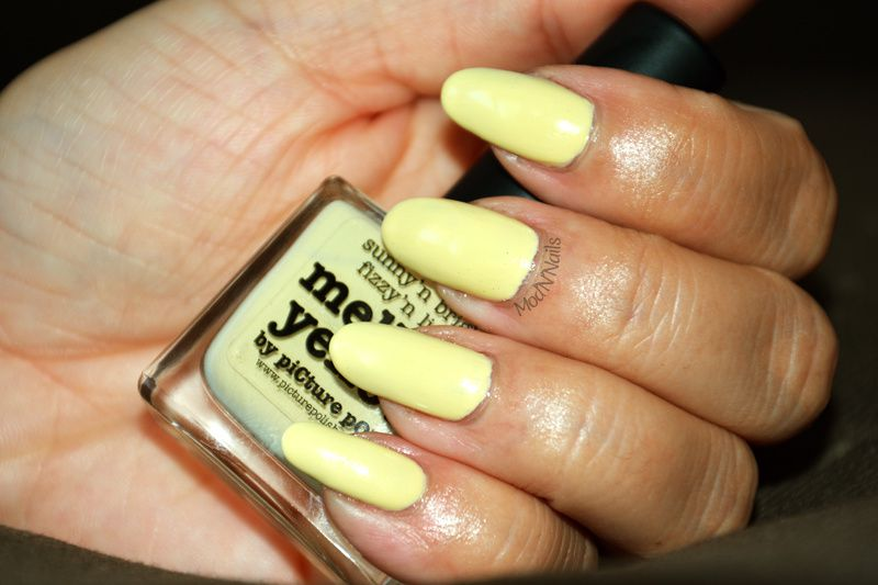 Swatch Mellow Yellow de Picture Polish