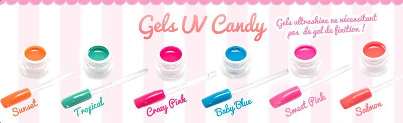 Les nouveaux Gel UV LM Cosmetic - Collection Candy
