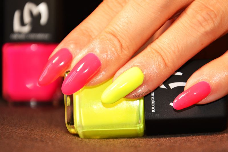 Swatch Pink Floyd &amp&#x3B; Yellow Submarine de LM Cosmetic - Collection Psychédélique