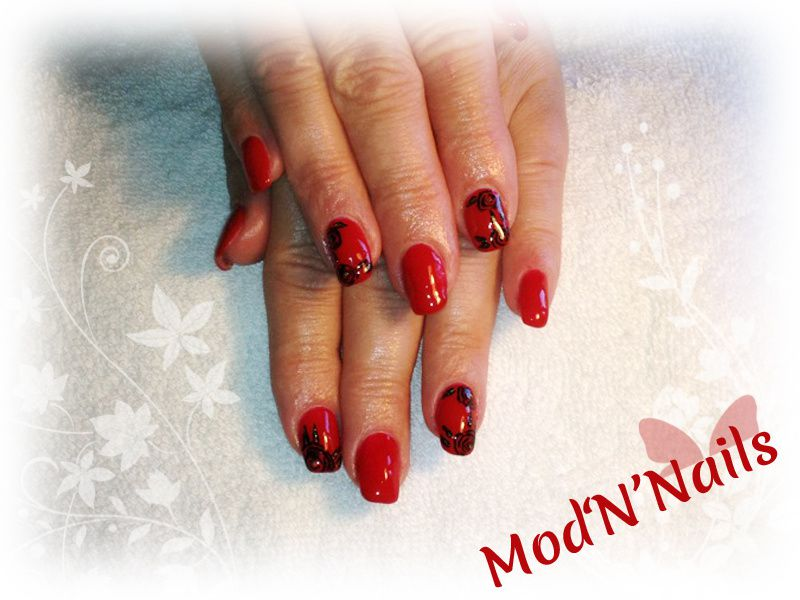 Des ongles glamour