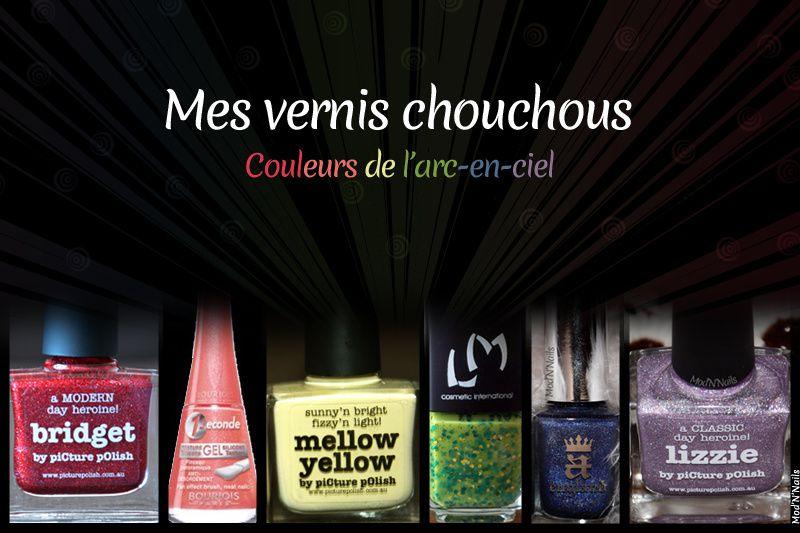 Mes vernis chouchous... Par couleur - Partie 1