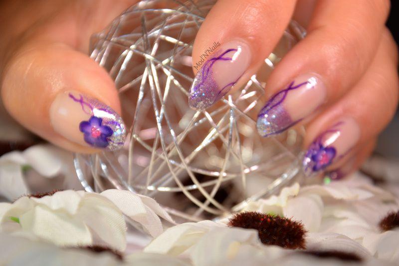 Ma participation violette au concours de Vanille et les Vernis
