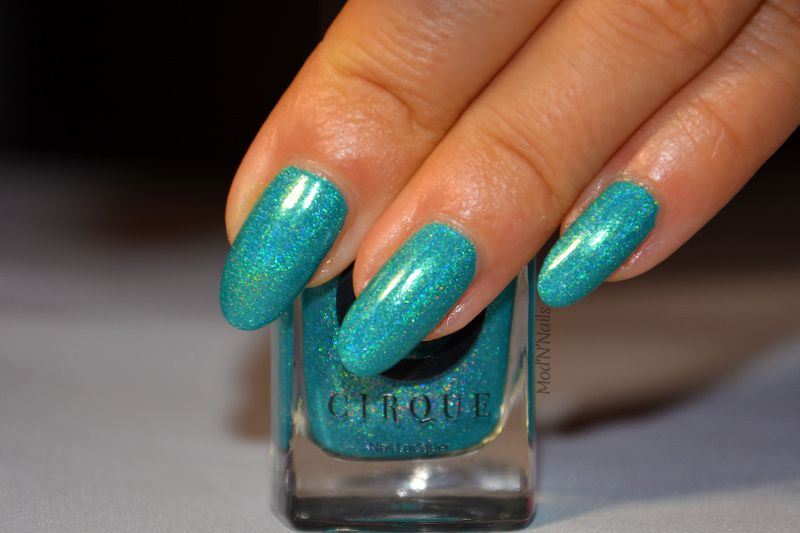 Swatch Cerrillos de Cirque et son Nail Art