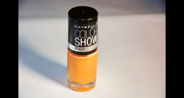 Maybelline Colorshow 187 - Sweet Clementine (collection Neons) - 1 utilisation - 2€ - N°4