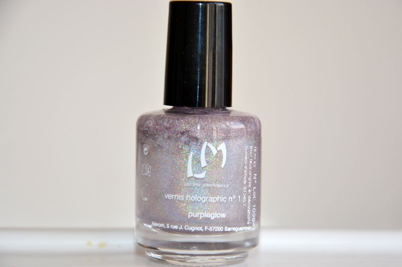 LM Cosmetic Collection Holographic (gros flacon de 15ml) - Purpleglow - 3 utilisations - 7€