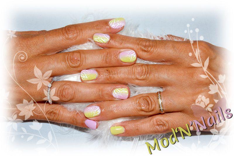 Des couleurs pastel en Gel UV