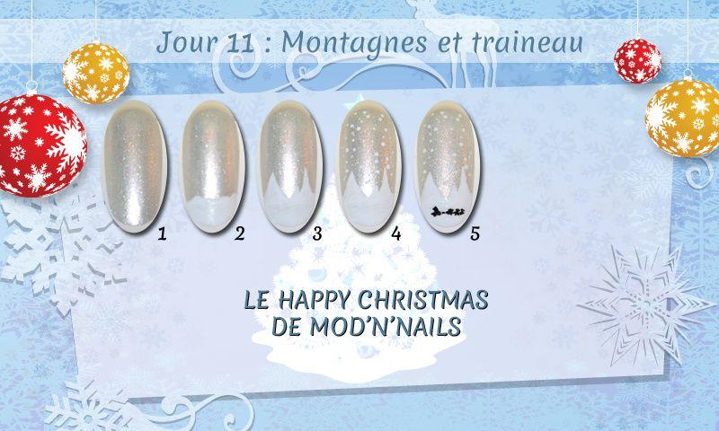 Jour 11 du Happy Christmas : Montagnes et traineau
