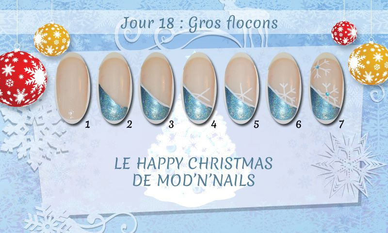 Jour 18 du Happy Christmas : Gros flocons