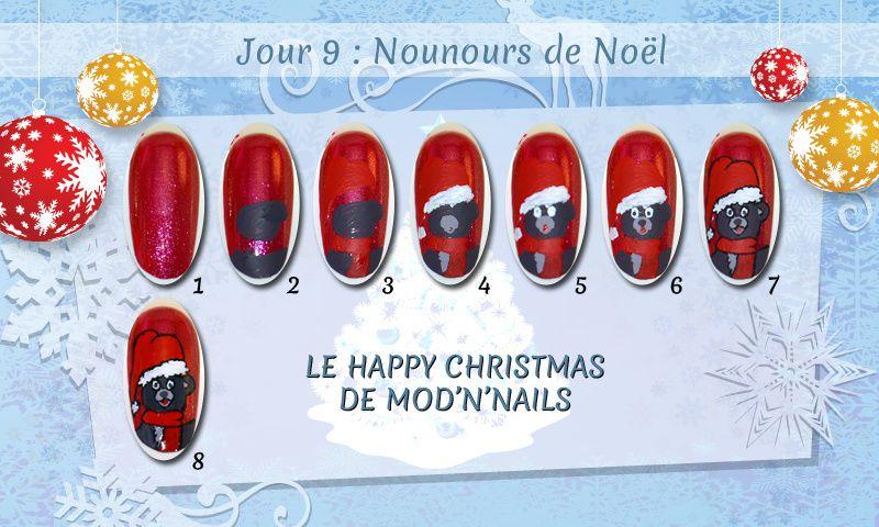 Jour 9 du Happy Christmas : Nounours de Noël