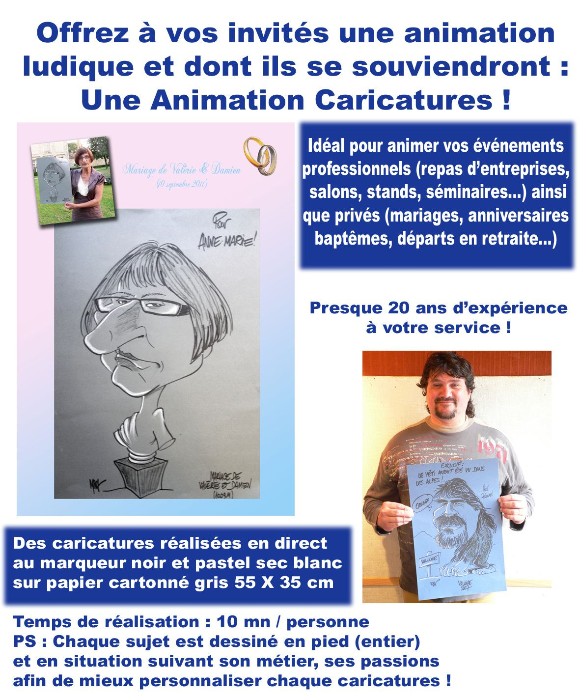 Animation caricatures !