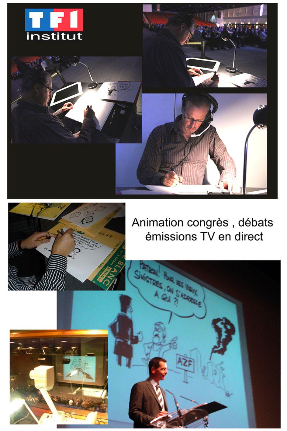 Clichés lors d'animation de congrès :