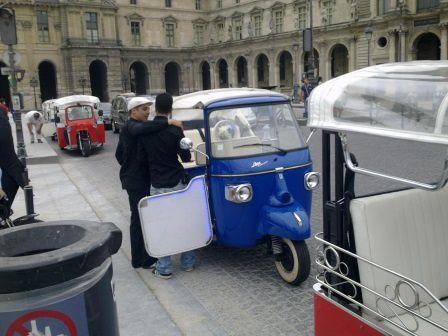 Visite de Paris....