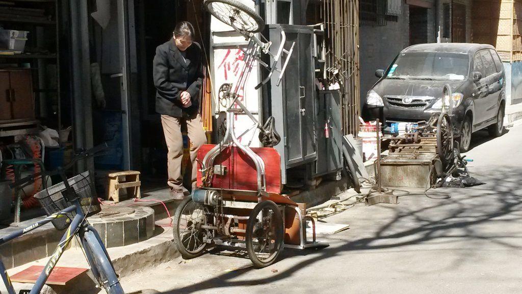 Chine: des velo!