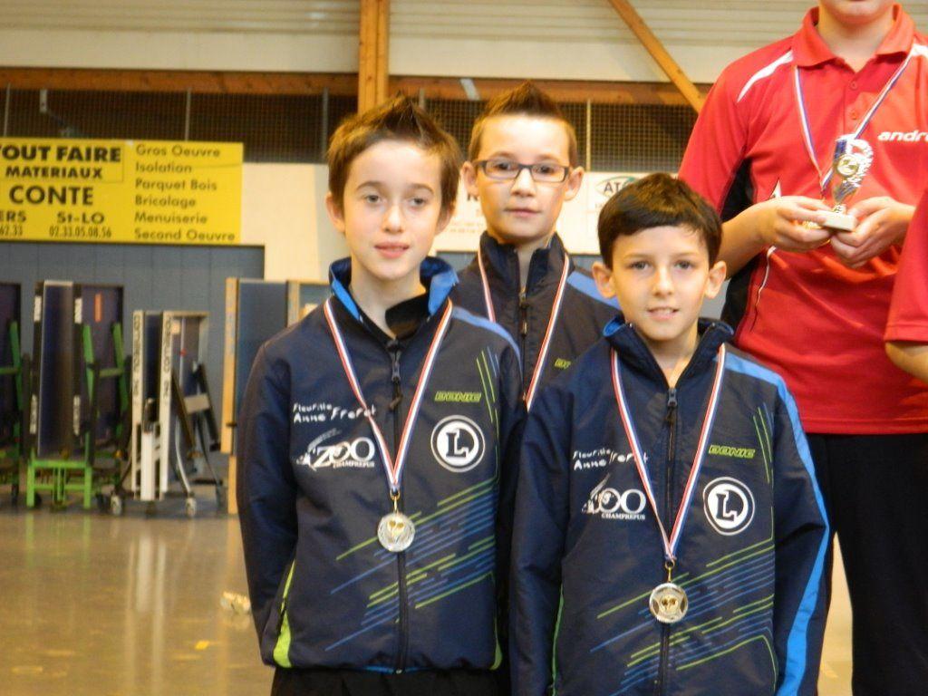 Interclubs : 3 podiums pour les jeunes
