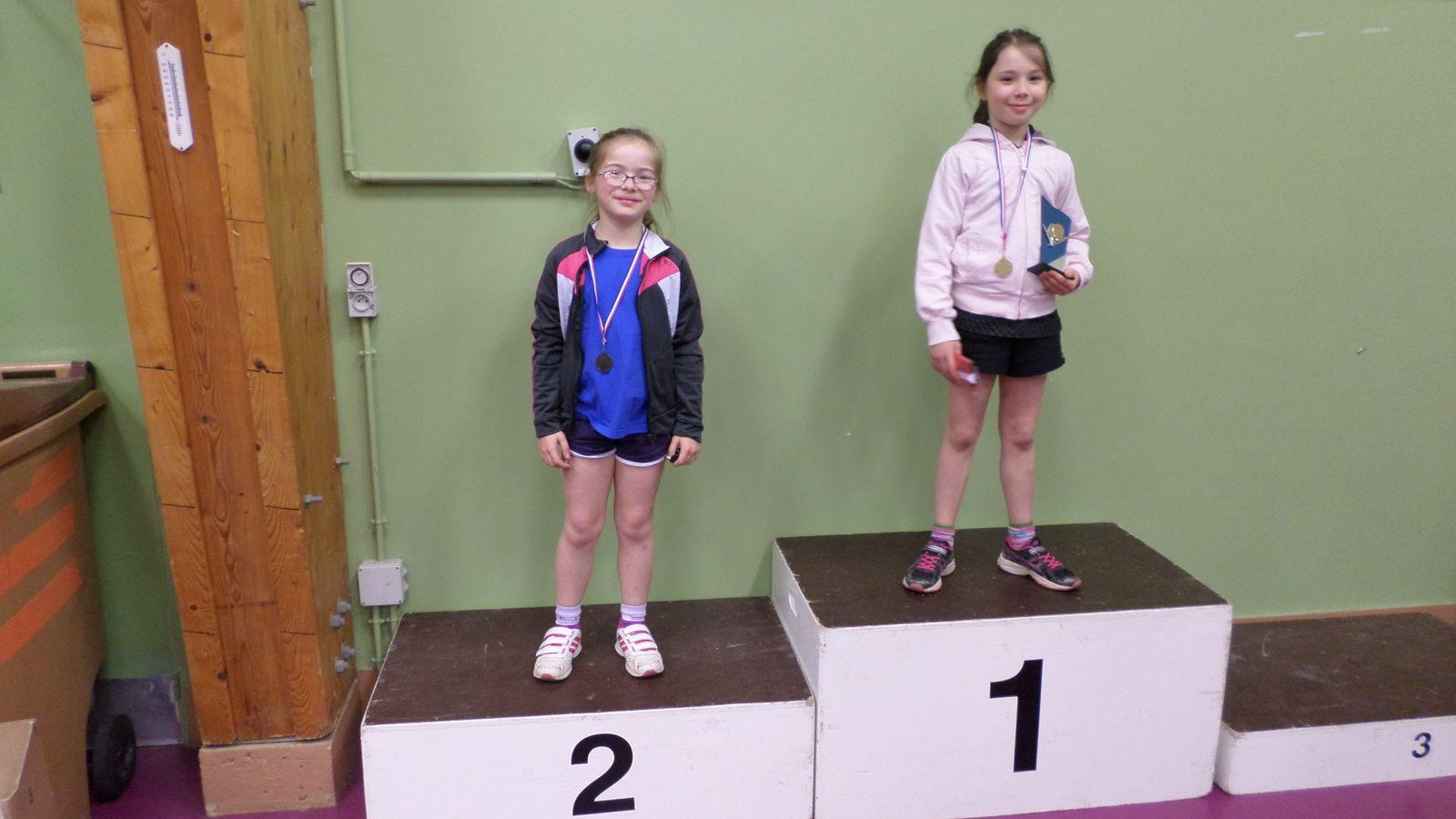 Critérium fédéral départemental : Deux podiums