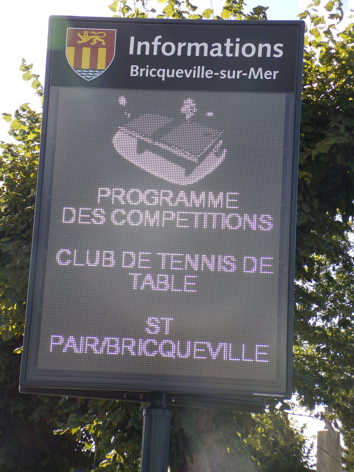 Le club s 39 affiche saint pair bricqueville tennis de table - Ligue de basse normandie de tennis de table ...