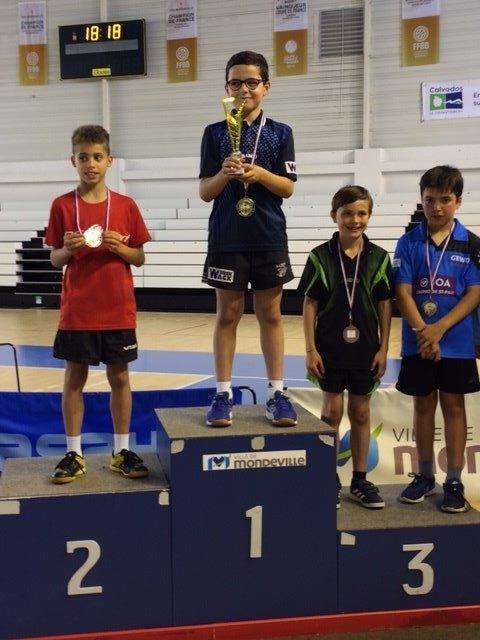 Trois podiums aux championnats de Normandie