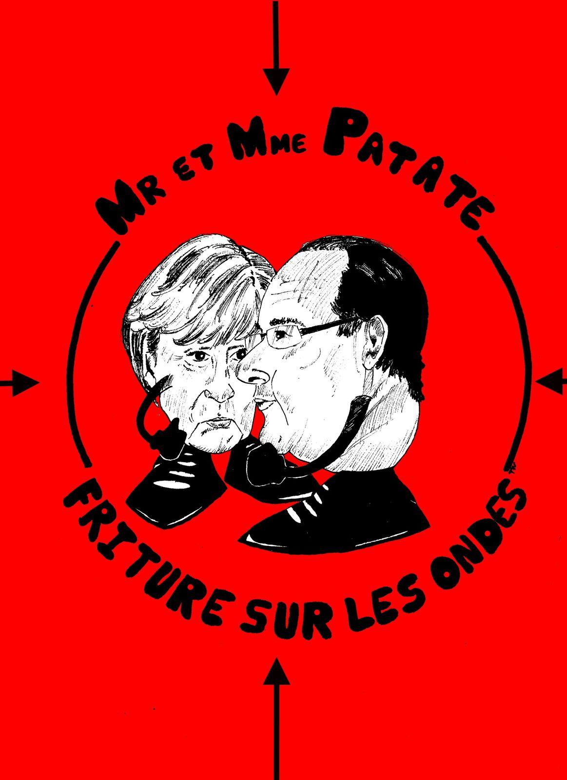 N.S.A: Merkel et Hollande demandent des explications aux Etats-unis sur les écoutes téléphoniques...
