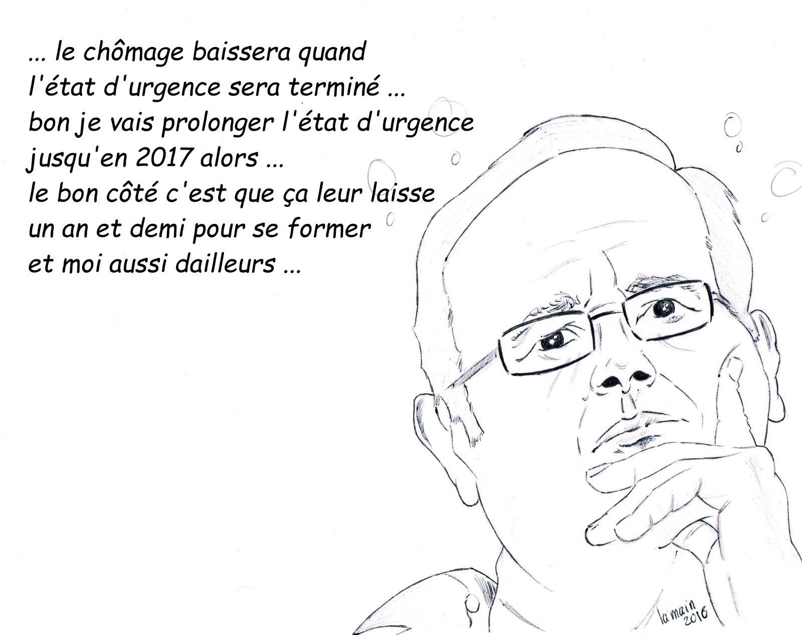Hollande : &quot&#x3B; réagir face au chômage &quot&#x3B;...