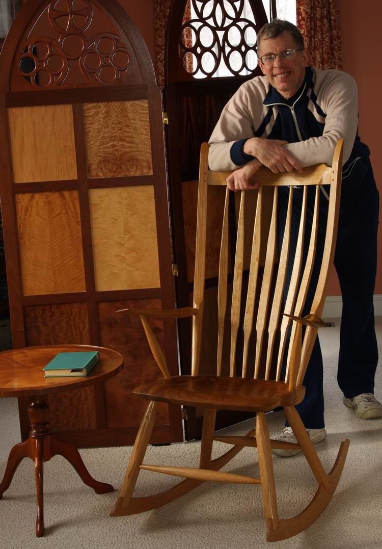 designing a rocking chair plans