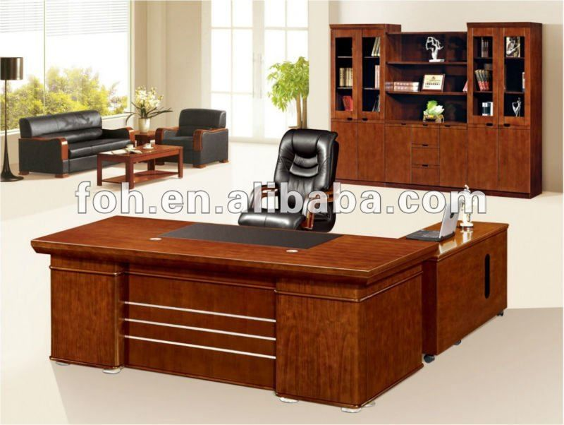 wood l shaped desk plans