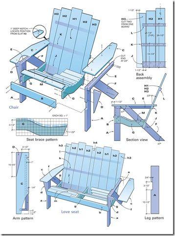 plans adirondack furniture