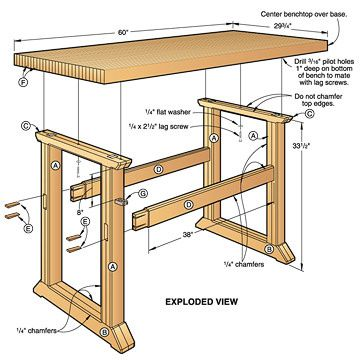 joiners workbench plans