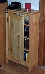 wood dvd cabinet plans