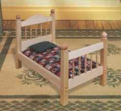 wood plans doll bed