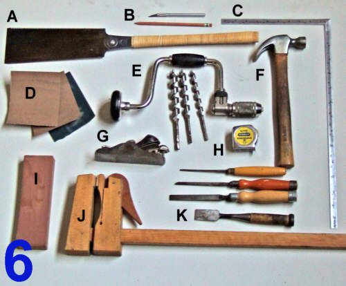 wood projects hand tools