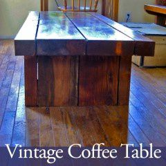 plank coffee table plans