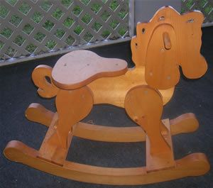 how to build a rocking horse free plans